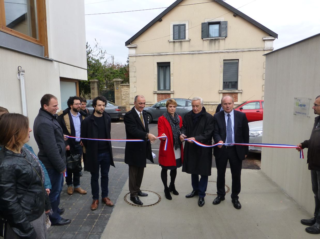 Inauguration Résidence Larrey à Dijon