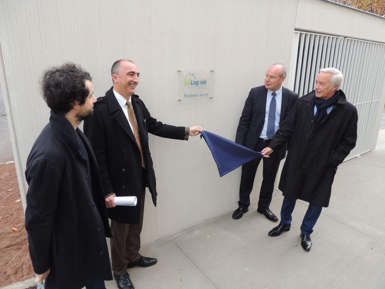 Première inauguration sur le territoire du Grand Dijon