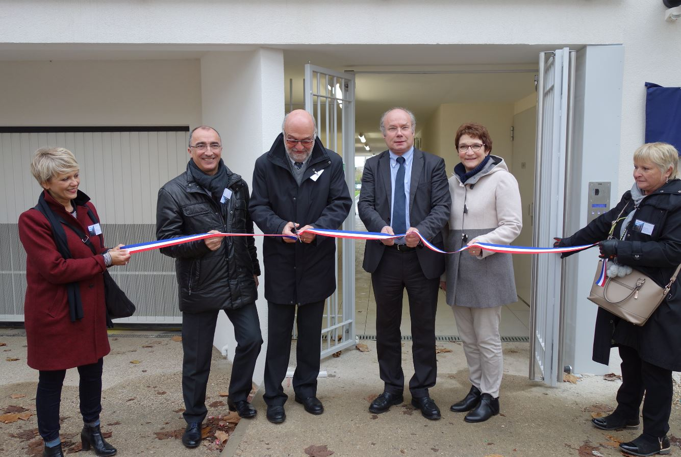 Inauguration résidence Les Bourroches à Dijon