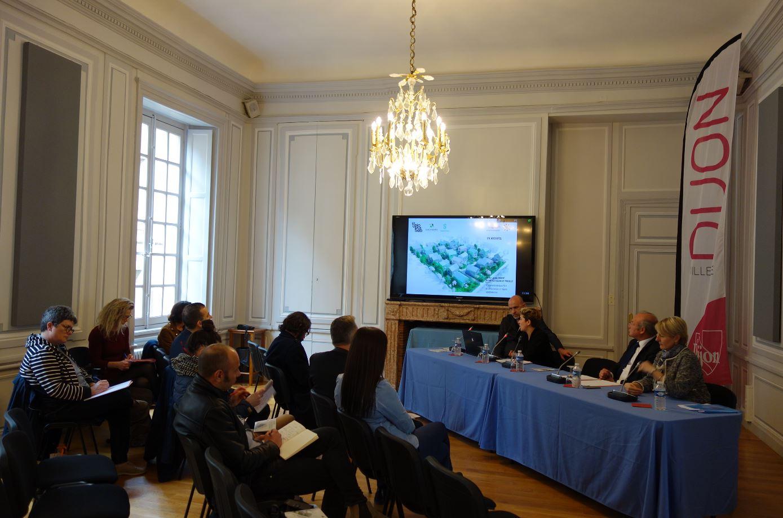 Présentation d'un nouveau projet immobilier à Dijon