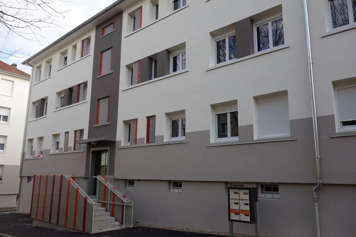 La résidence Jean Jaurès réhabilitée