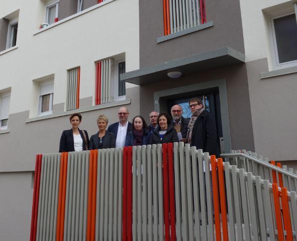 Visite de la résidence Jean Jaurès