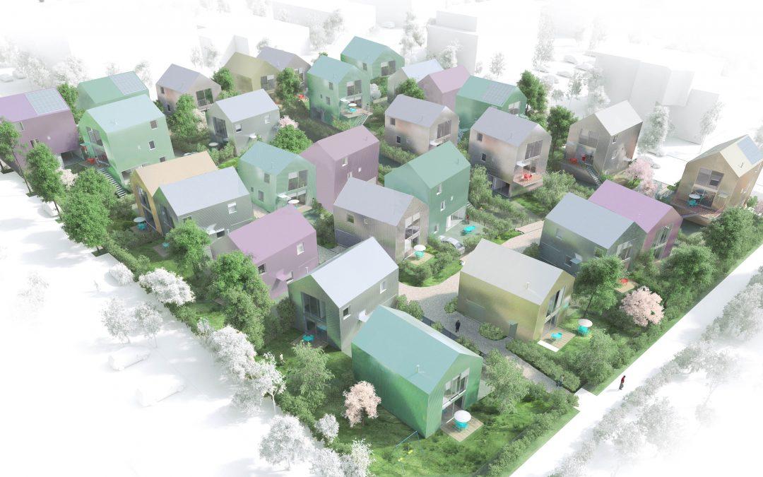 40 maisons de ville vont bientôt sortir de terre à Dijon