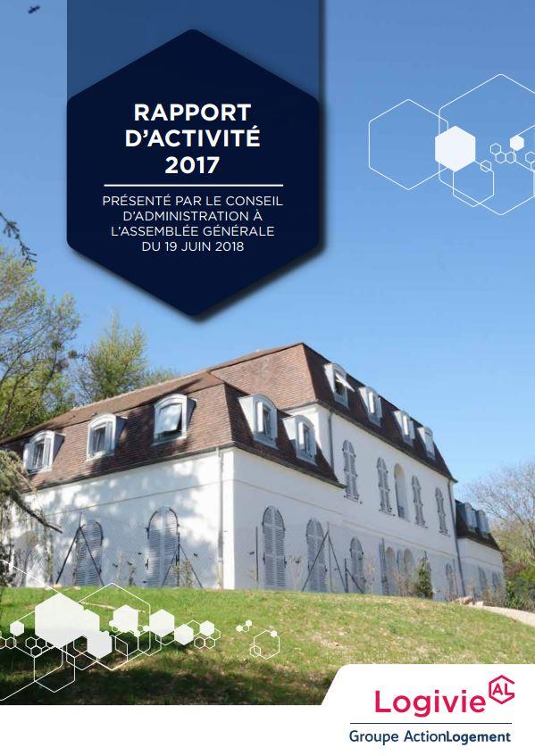 Rapport d'activité Logivie 2017