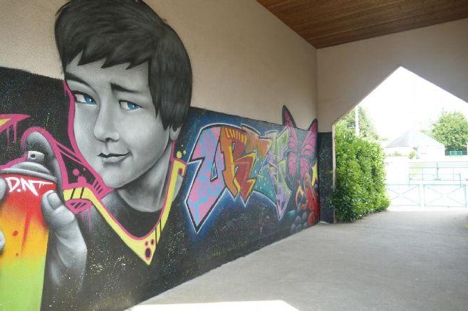 Article de presse – Un chantier jeunes à Urzy pour redonner de la couleur à notre résidence