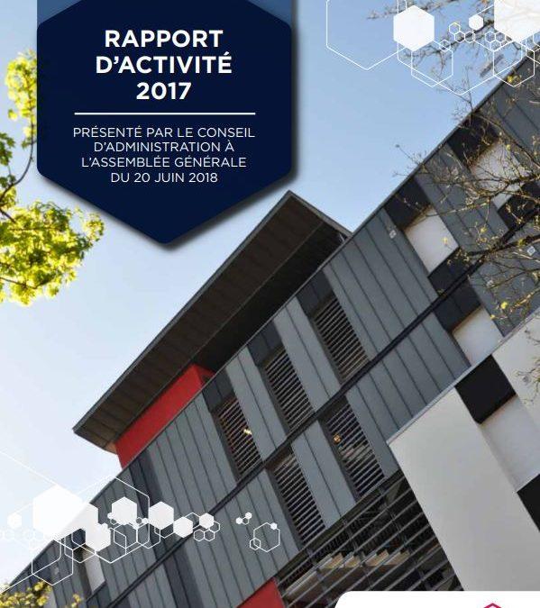 Rapport d'activité Villéo 2017