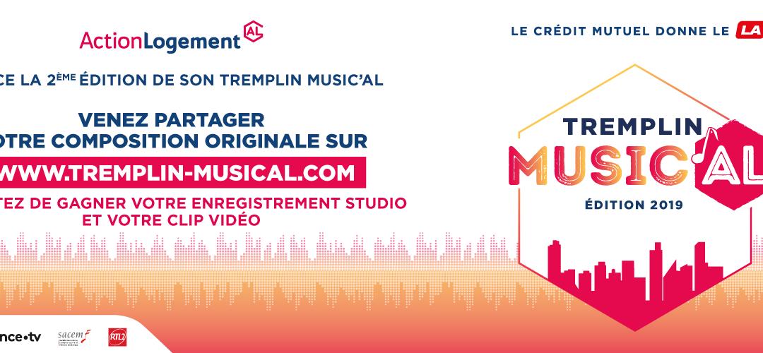 Communiqué de presse – Tremplin Music'AL – 2ème édition
