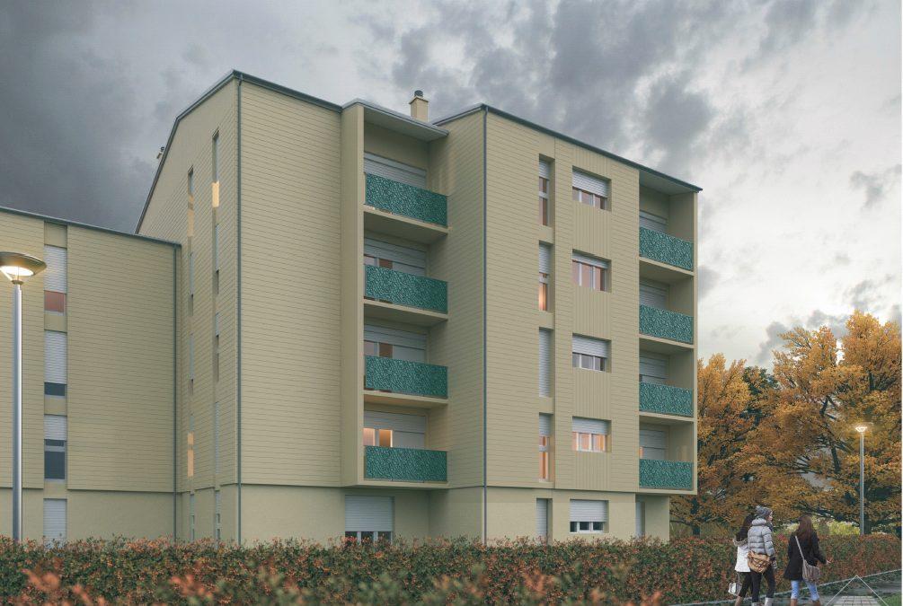 Articles de presse – Réhabilitation de 100 logements à Nuits-Saint-Georges