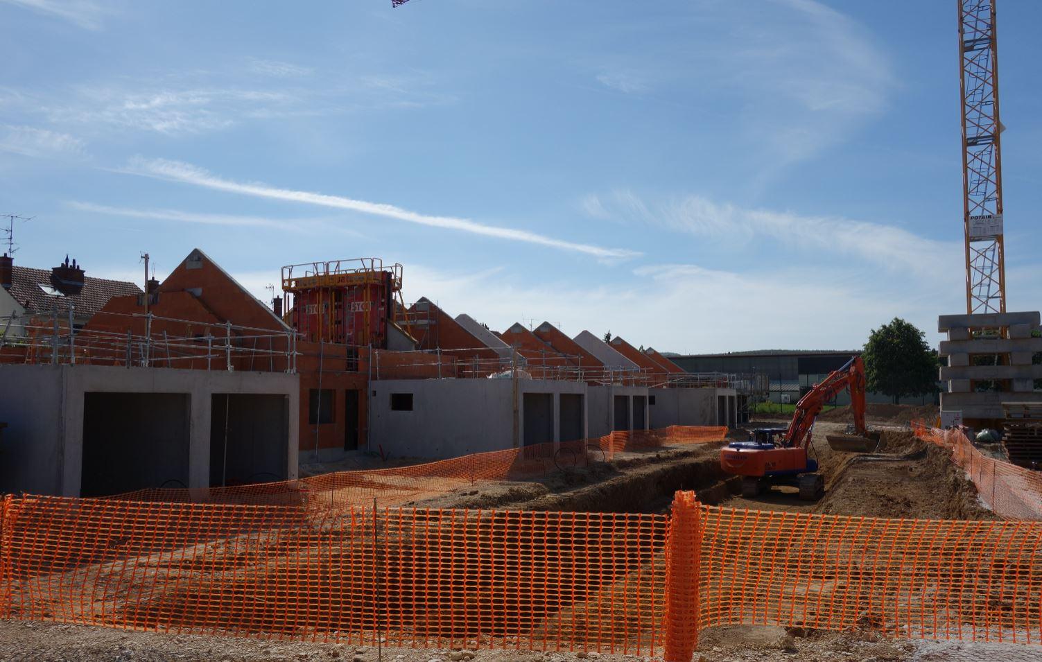 CONSTRUCTION MARSANNAY