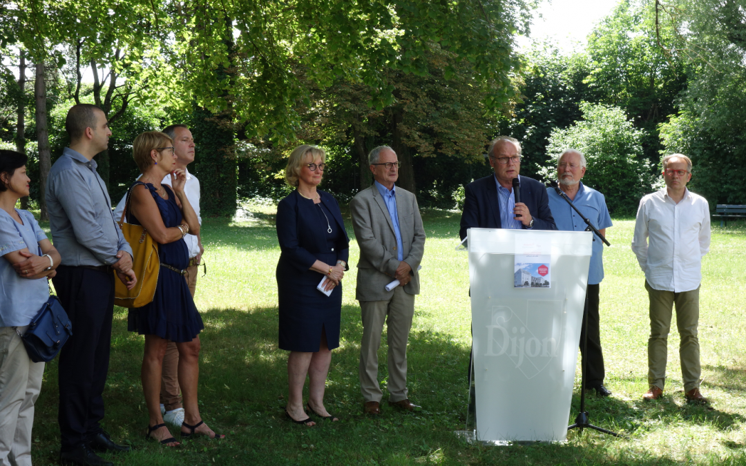 Articles de presse – Pose de première pierre – Résidence sociale Abrioux à Dijon
