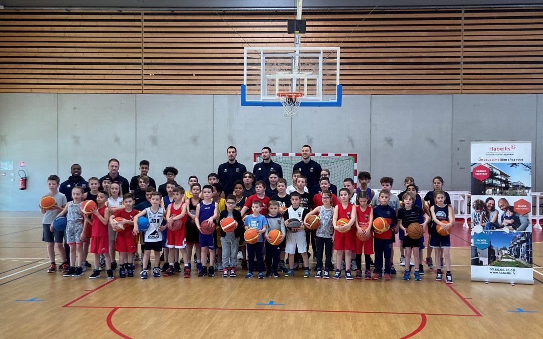 «La JDA Dijon Basket au cœur de nos quartiers», à Auxonne (21)