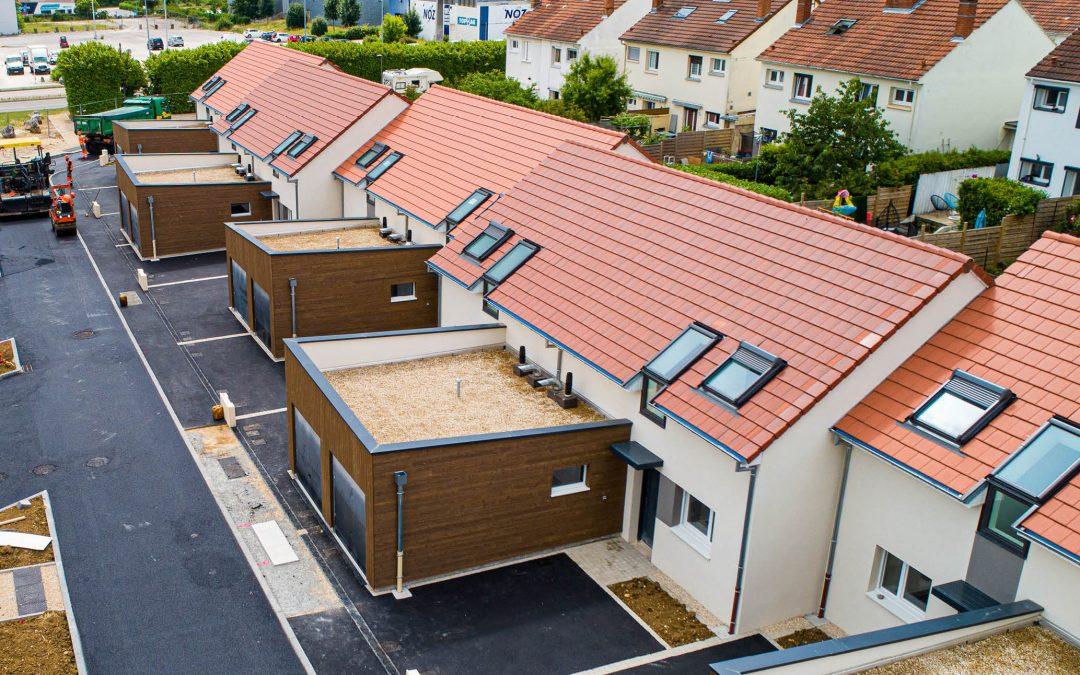 10 maisons dédiées à l'accession ont été livrées à Marsannay-la-Côte