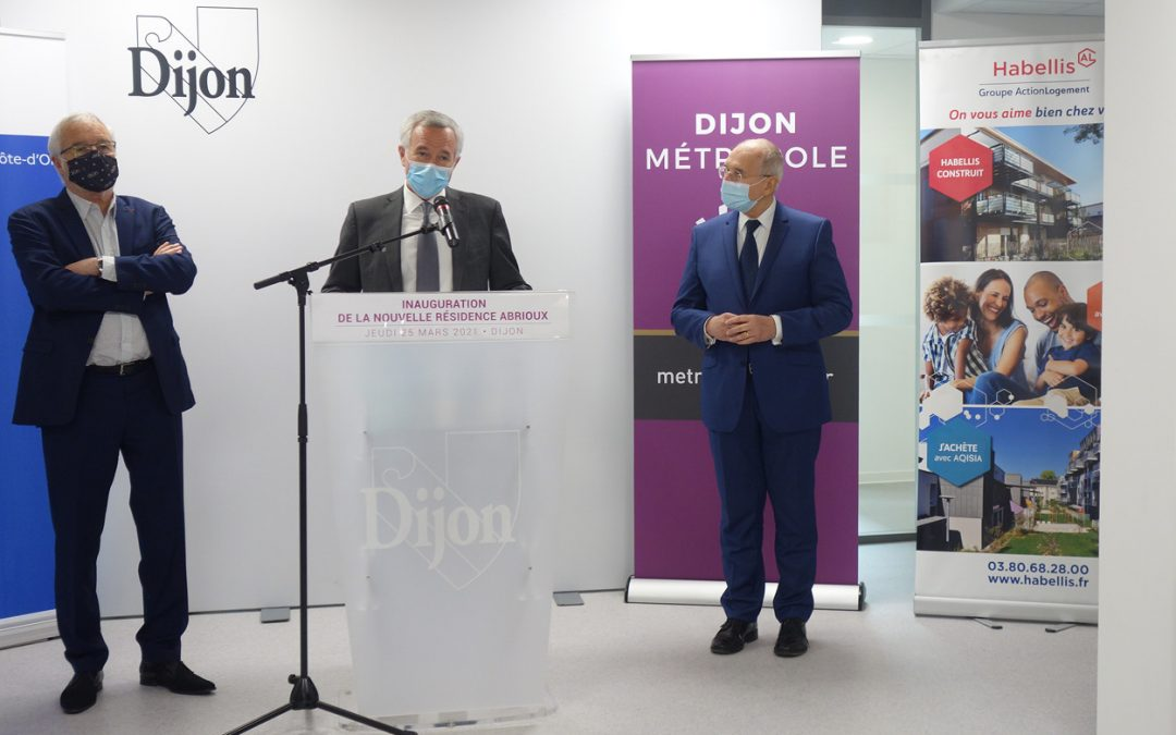 Articles – Inauguration Résidence sociale Abrioux à Dijon