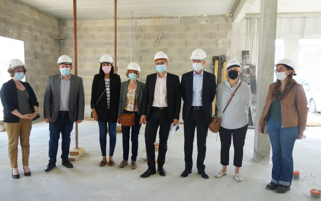 Visite de chantier – Extension EHPAD Marcel Jacquelinet