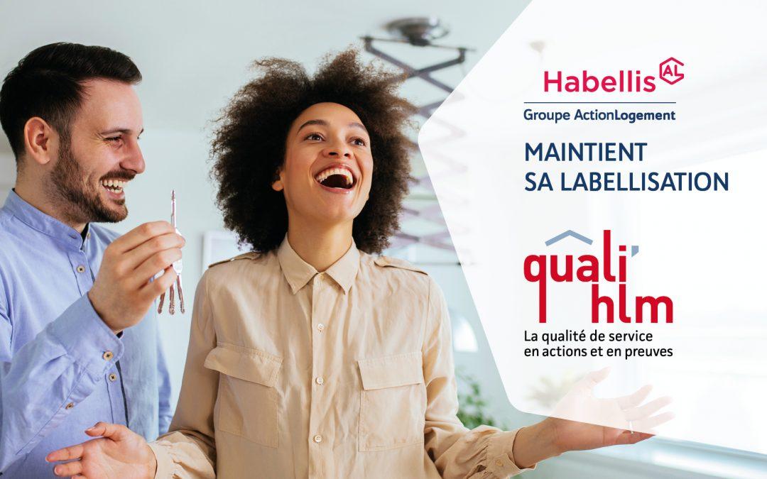 Habellis maintient sa labellisation QUALI'HLM !