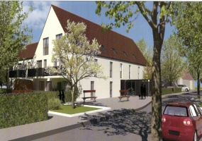 Location sans frais d\'agence, appartement T3 , Magny avec balcon quartier calme, neuf, commerces, écoles, duplex