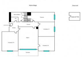 11 RUE EDOUARD HERRIOT, 21300, CHENÔVE, 3 Chambres Chambres , ,Appartement,Vente,RUE EDOUARD HERRIOT,58000029493