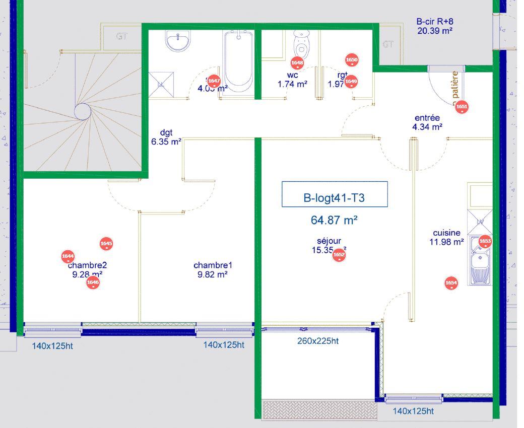 10 rue des Retisseys, 21240, TALANT, 2 Chambres Chambres , ,Appartement,Location ,rue des Retisseys,8,58000029522